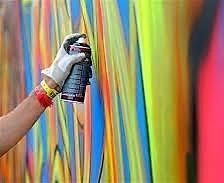 Farby v spreji