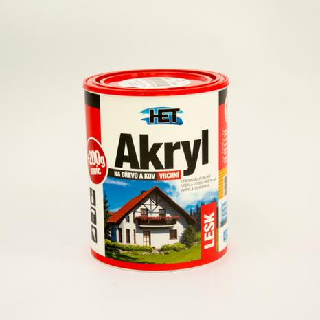 HET Akryl LESK 1000 biela