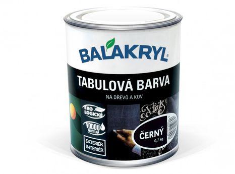 BALAKRYL Tabuľová farba čierna