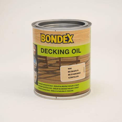 Bondex decking oil bezfarebný