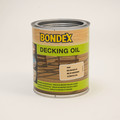 Bondex decking oil palisander