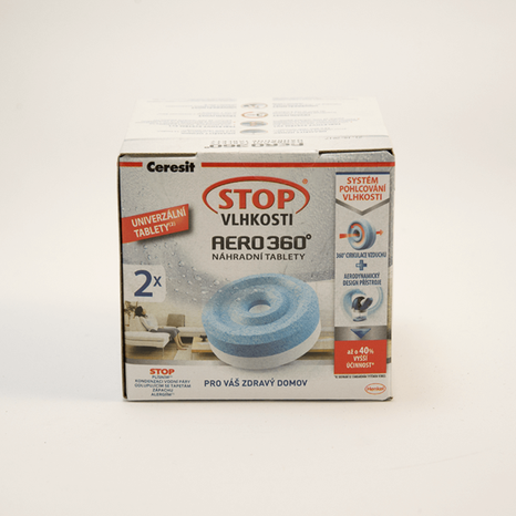 Ceresit STOP vlhkosti náhradné tablety 2x450g