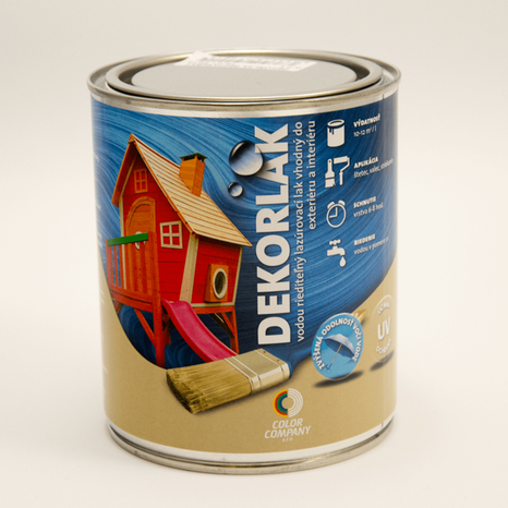 color company Dekorlak bezfarebný