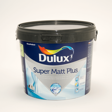 Dulux Super Matt Plus - Biela