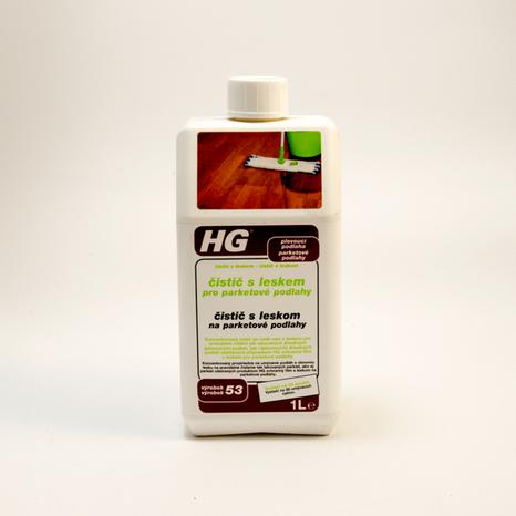 HG čistič s leskom na parketové podlahy 1l