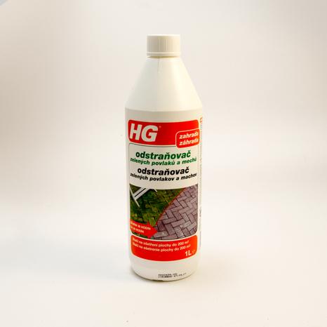 HG odstraňovač zelených povlakov a machov 1l