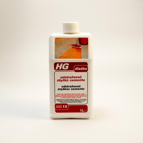 HG odstraňovač zvyškov cementu 1l