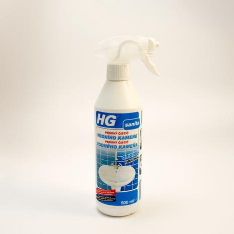 HG penový čistič vodného kameňa 0,5l