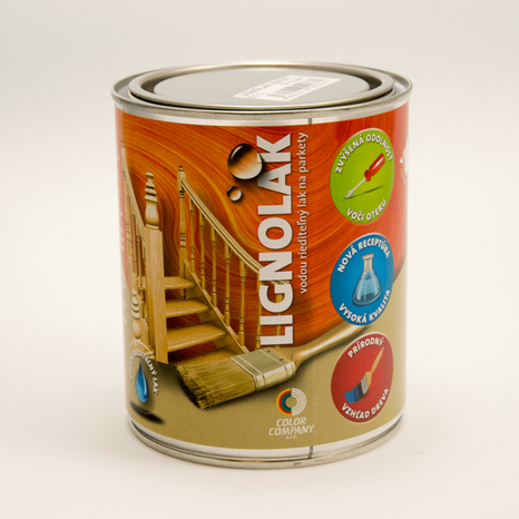 color company Lignolak lesk