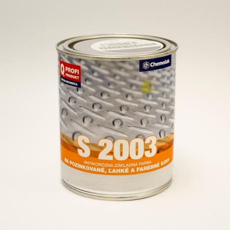 S 2003/0110 základ na ľahké kovy
