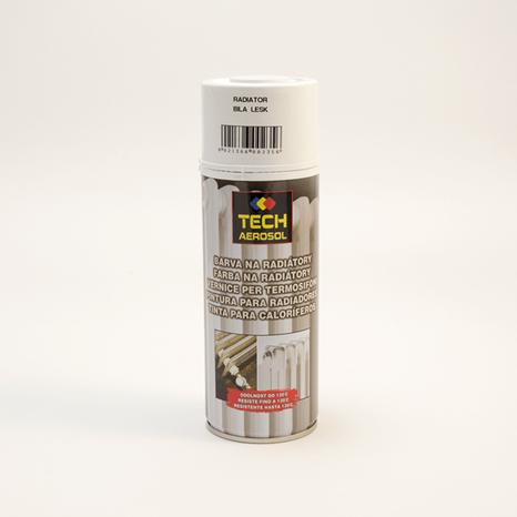Sprej farba na radiátory biela 400ml