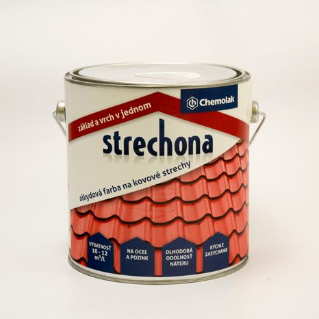Chemolak STRECHONA 0840 červenohnedá